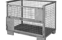 Industriegitterbox, Stahlboden